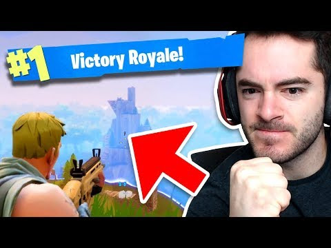 FIRST SQUAD VICTORY - Fortnite Battle Royale