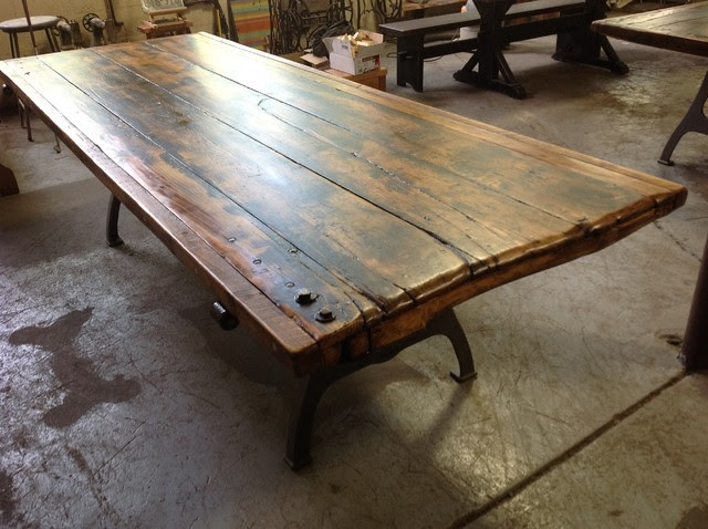 Salvaged Door Tables - traditional - dining tables - providence