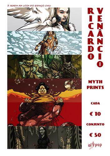 Myth Prints on sale