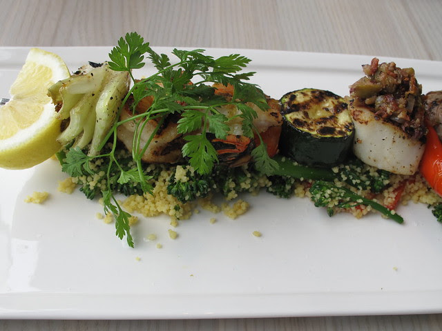 meat and fish brochette 2