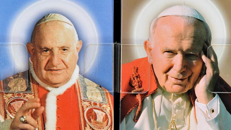 Św. Jan XXIII i św. Jan Paweł II