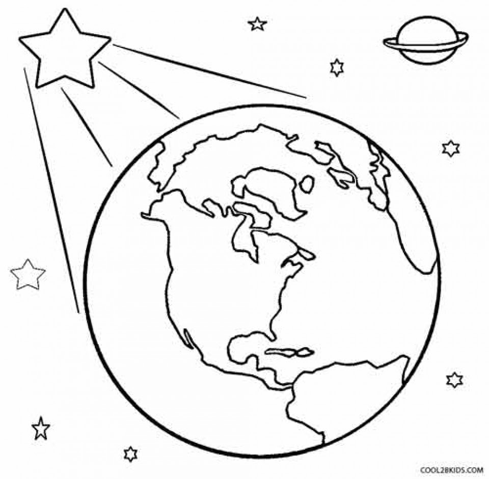 20+ Free Printable Earth Coloring Pages - EverFreeColoring.com
