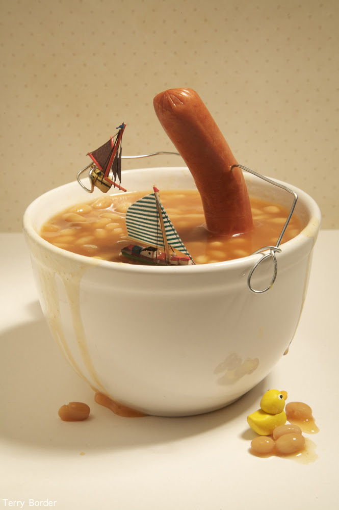 Funny bento objects by Terry Border - english breakfast
