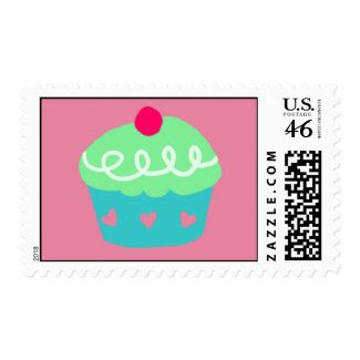 Cupcake Stamp stamp