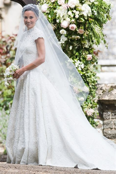 pippa middletons wedding dress revealed vanity fair