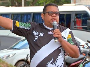 Paulo César Gatão presidente do Mixto (Foto: Reprodução/TVCA)