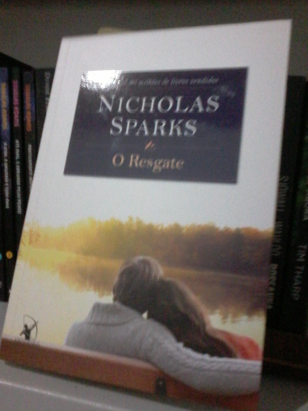 Nicholas Sparks Minha Contracapa