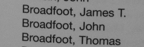 Broadfoot Men in Granite by midgefrazel