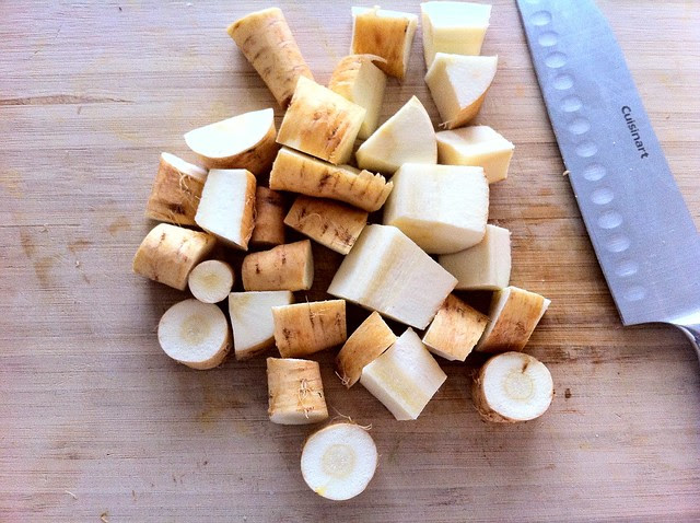 Chunked Parsnips for Stock
