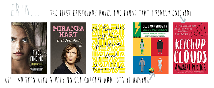 favourite 2013 reads Erin