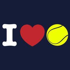 I <3 tennis @jugamostenis #tennis #tenis