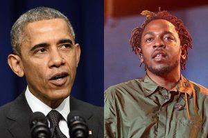 Barack Obama escolhe música de Kendrick Lamar como favorita do ano