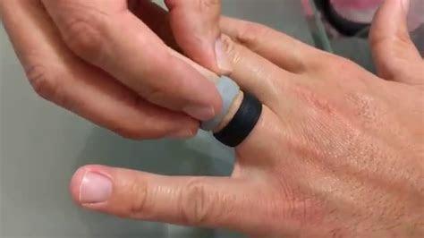 Rinfit Men's Design Silicone Wedding Rings