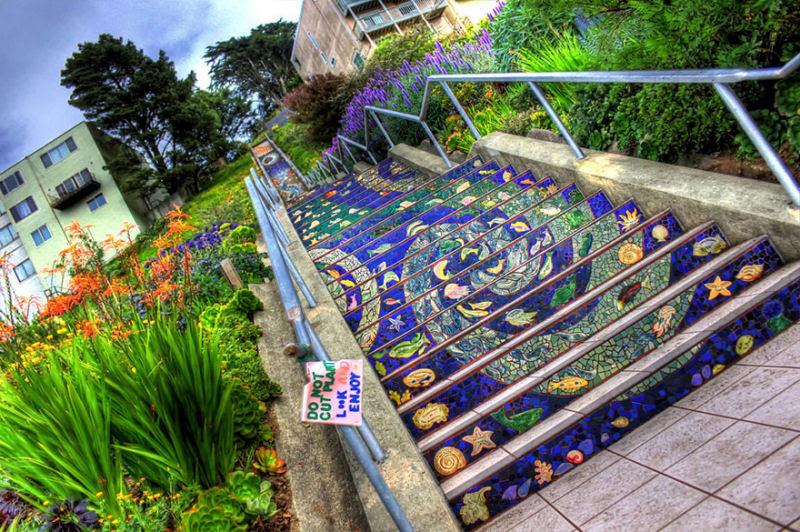 17 escadarias com as mais belas decorações urbanas do mundo 02