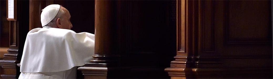 Confessione papa Francesco, Confessione individuale e Confessione comunitaria