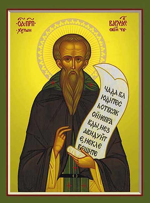 ST. BARLAAM, the Abbot of Khutyn