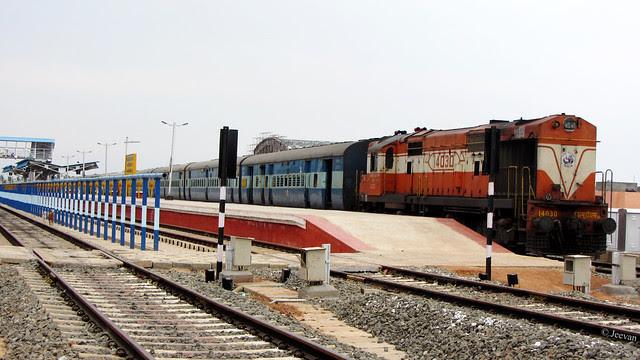 Train station, Karaikal