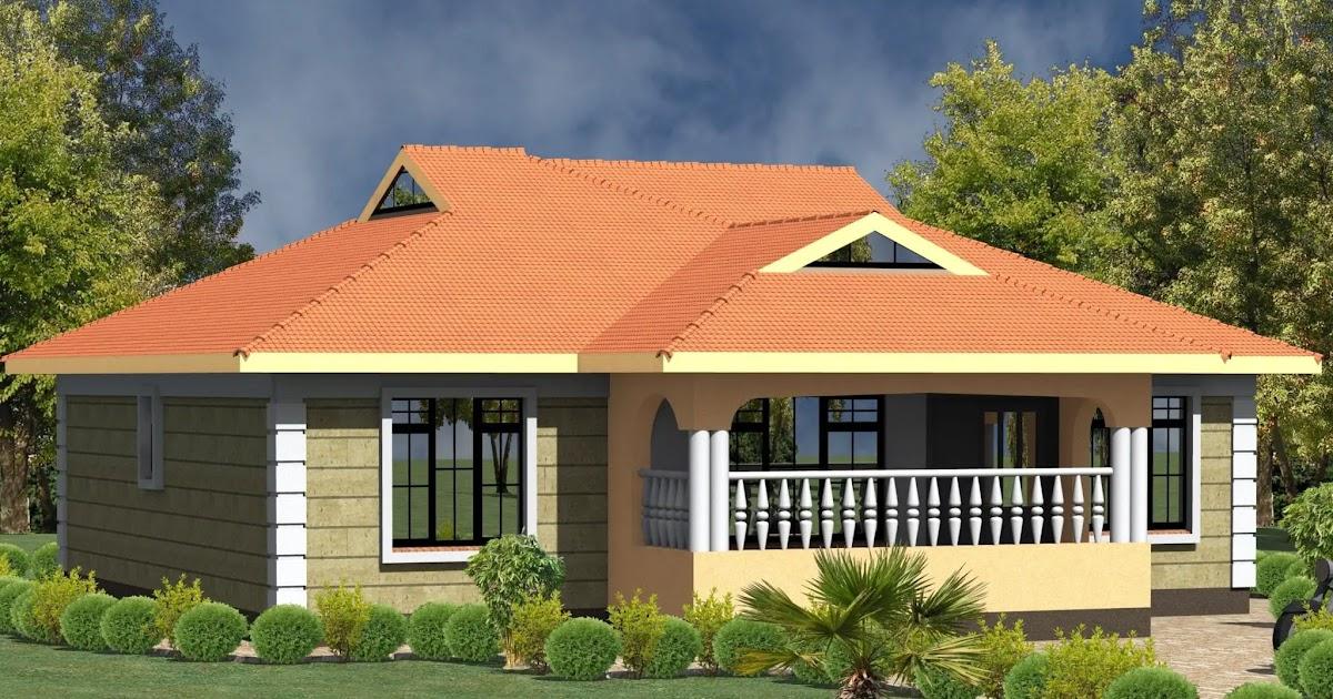 Concept 44 6 Bedroom House Plan In Kenya, Modern 3 Bedroom House Plans In Kenya
