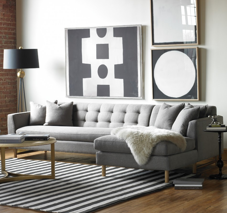 Designing Rooms With An L-Shaped Sofa | Feng Shui Interior ...