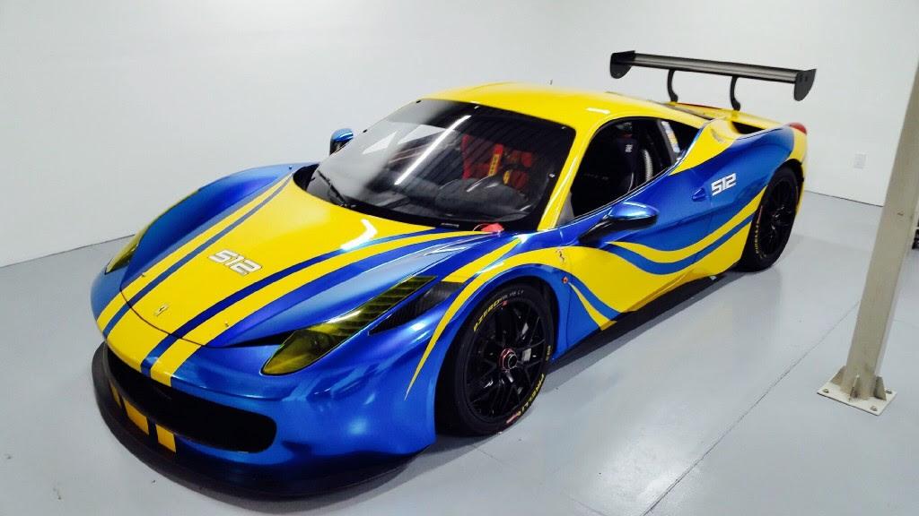 His & Hers Ferrari 458 Challenge - Andy Blackmore Design