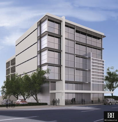 3 Storey Commercial Building Design The First Commercial Center In