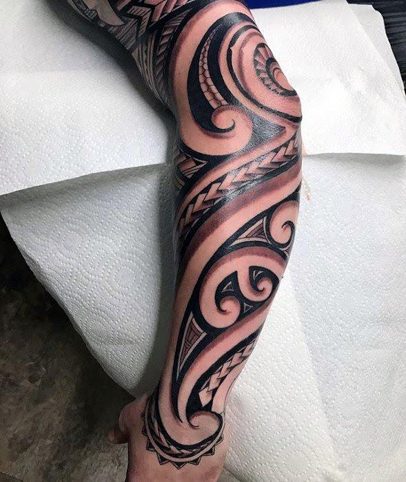 50 Badass Tribal Tattoos For Men Manly Design Ideas