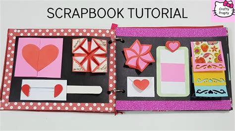scrapbook tutorialhow   scrapbookdiy scrapbook