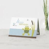 Ribbit Birthday Card B card