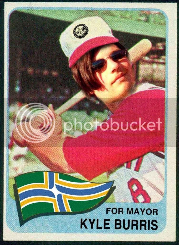 Kyle Burris Card-Frong