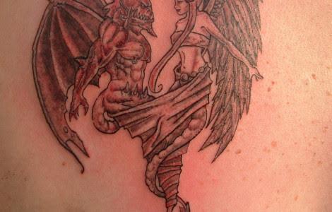 Angel And Demons Tattoos Designs Tattoos Designs Ideas