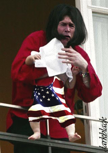 Dangling Patriotism