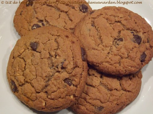 Peanut butter chocolate chunk cookies