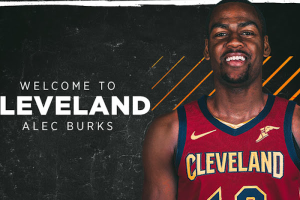 1e503359c48b Cavaliers Acquire Alec Burks and Two Future Second Round Picks from Utah