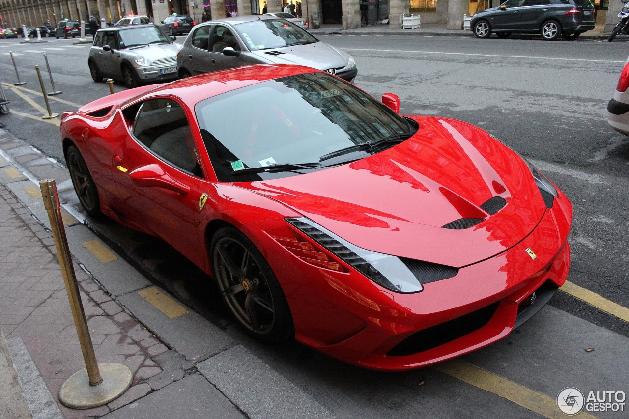 Ferrari 458 Speciale  25 January 2014  Autogespot