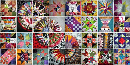 32 blocks of my 8 inch sampler quilt from quilt alongs and other things...