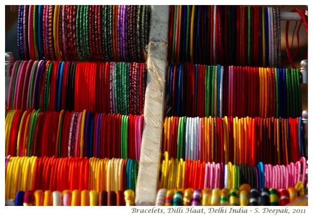Bracelets, Dilli Haat, Delhi India - S. Deepak, 2012