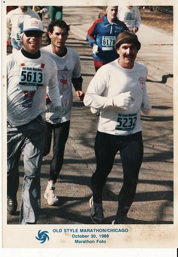 Chicago Marathon 1988