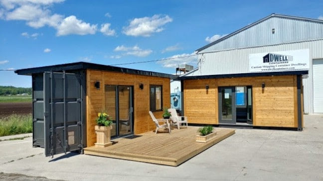 1 container house