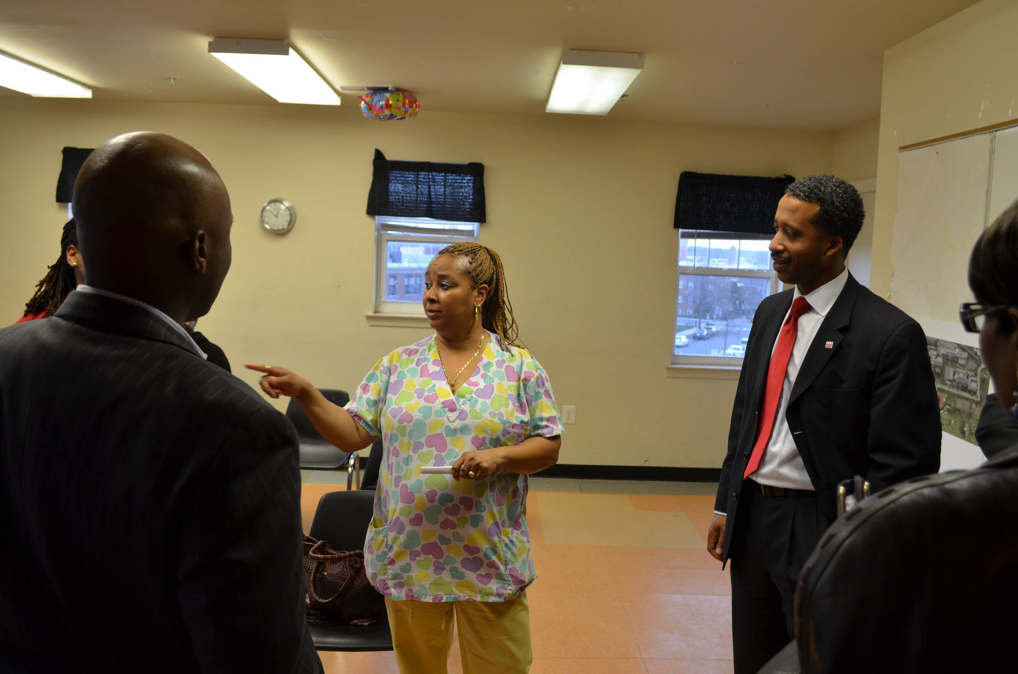 Councilmember Engages the Langston Carver Terrance Community