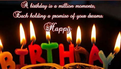 A Birthday Is A Million Moments. Free Happy Birthday
