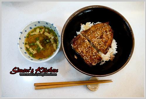 仿浦燒鰻魚飯10
