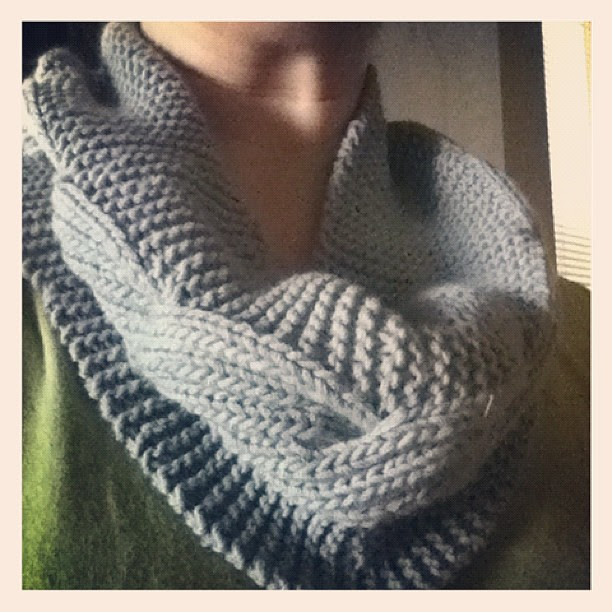 Millwater! I only made eleven cables, but I think my mom will prefer this length! Love it!