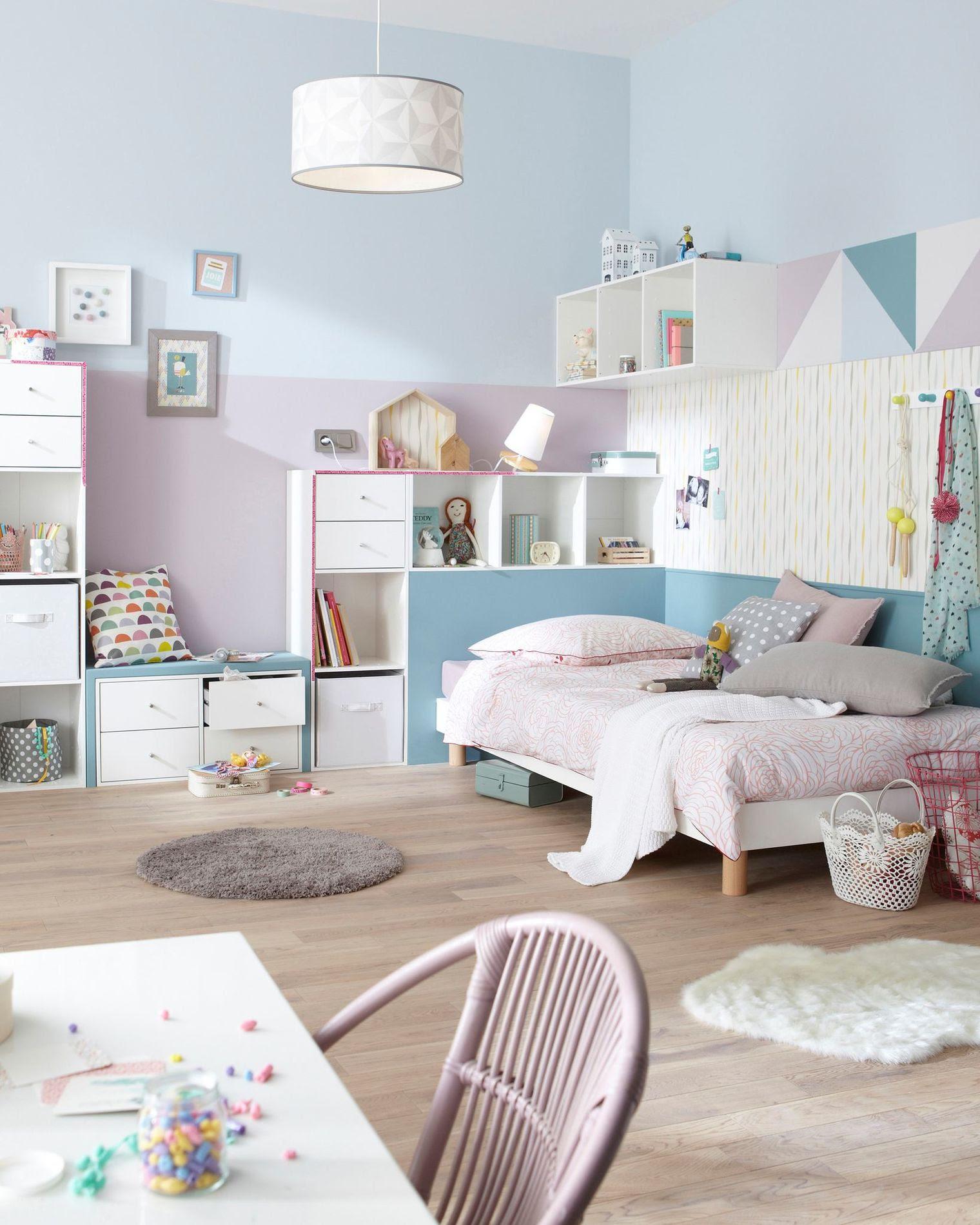 deco pastel dans la chambre d enfant avec la peinture luxens_5402461