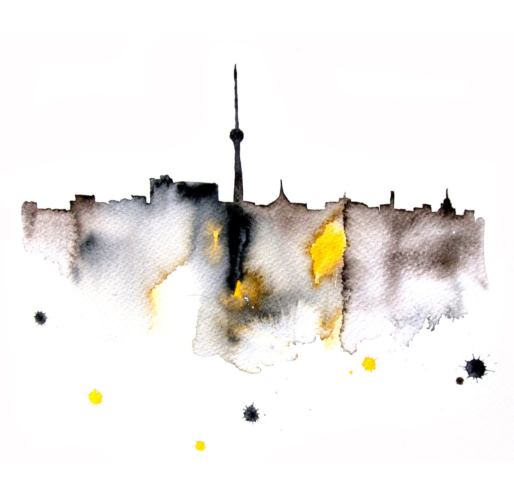 Watercolour Cities by Elena Romanova Artist (13)