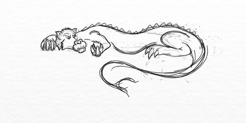 Dragon Sketch #1