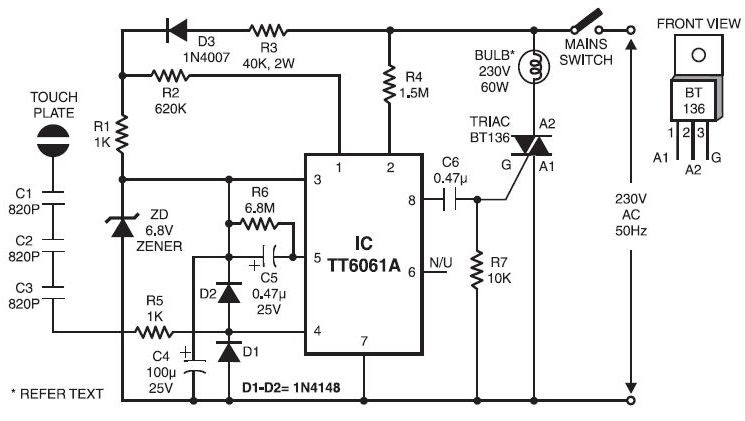 Touch control dimmer diagram circuit diagram images touch control dimmer diagram touch dimmer switch touch control dimmer diagram cheapraybanclubmaster Choice Image