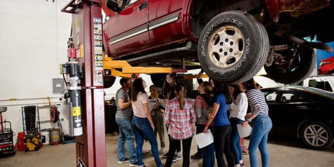 Young Women Explore Automotive Engineering at Michigan ...