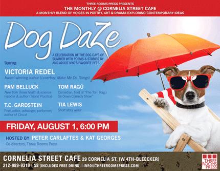 Dog Daze Reading 08-01-14 at Cornelia Street Cafe