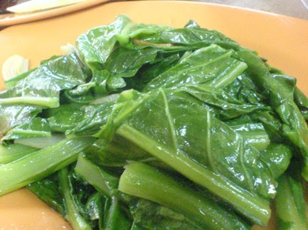 KM - yin yang vege (breed of kailan and choysum)