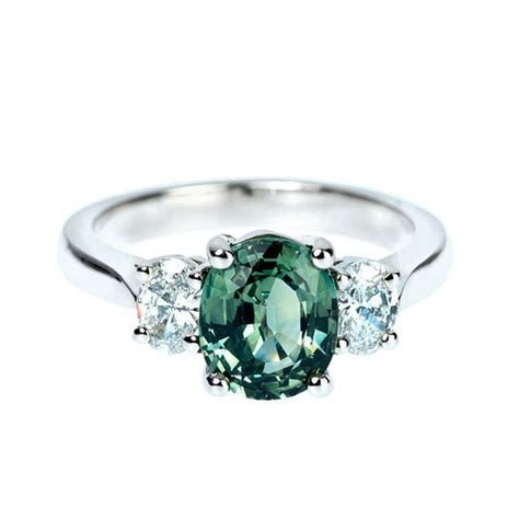 Best 25  Green engagement rings ideas on Pinterest